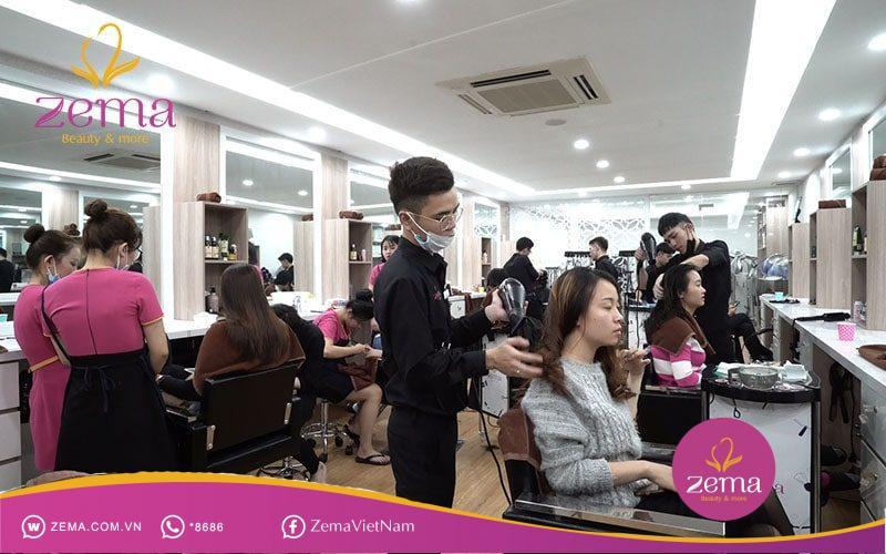 Dịch vụ duỗi tóc chuyên nghiệp ZEMA Việt Nam
