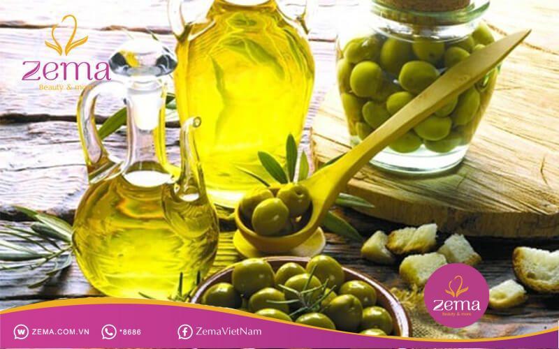 Trị rụng tóc bằng dầu oliu