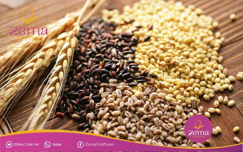 Sử dụng ngũ cốc nguyên hạt trong chế độ ăn giảm cân