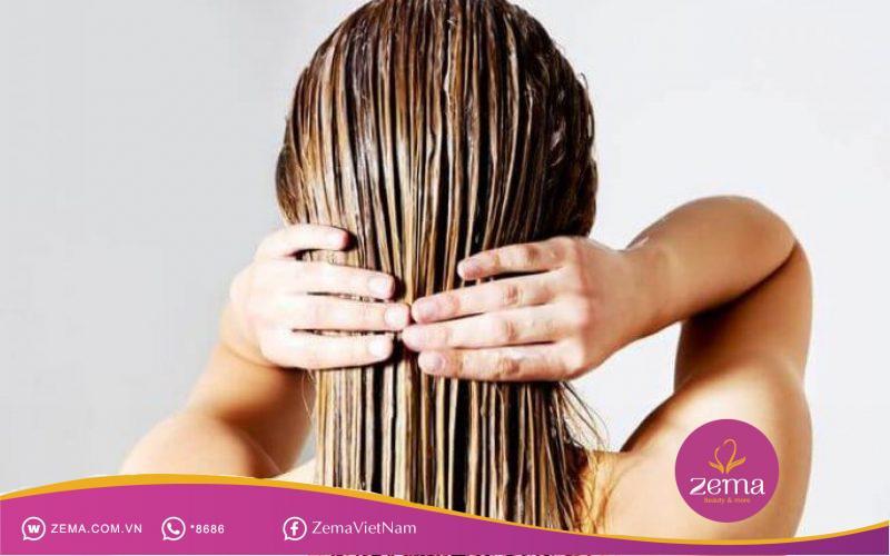 Mặt nạ tóc giúp cải thiện tình trạng tóc bấm một cách hiệu quả
