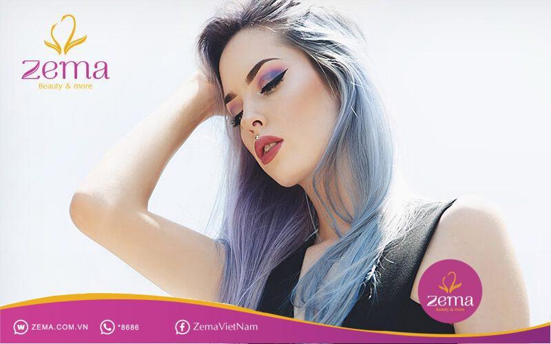 Nhuộm tóc màu gì để sáng da?