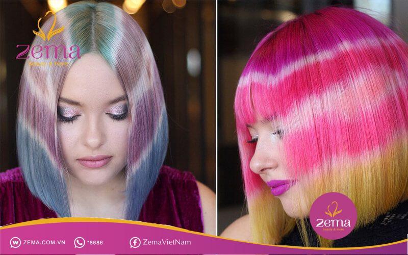 Tóc chuyển màu luôn khiến cho các nàng thêm cá tính, quyến rũ