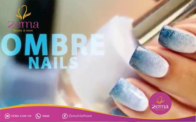 Dịch vụ nail sơn ombre là gì?