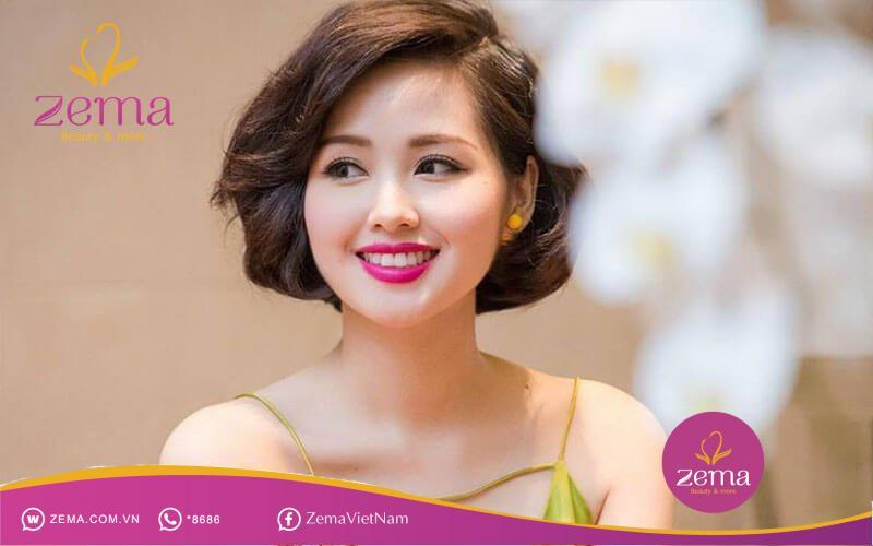 Tóc ngắn ngang vai - Kiểu tóc cho tuổi 35