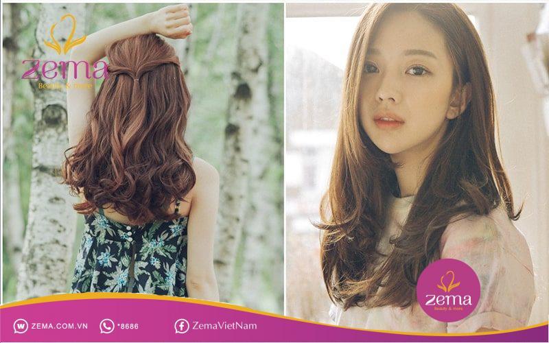Làm thế nào để tóc xoăn đuôi nhẹ luôn đẹp tự nhiên không cần đến tiệm làm tóc?
