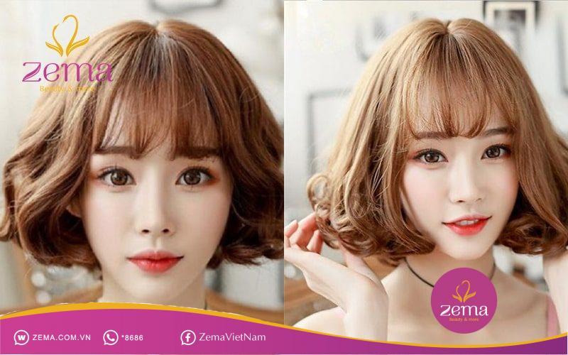 7 mẫu tóc xoăn ngang vai tự nhiên giúp gương mặt đẹp không góc chết