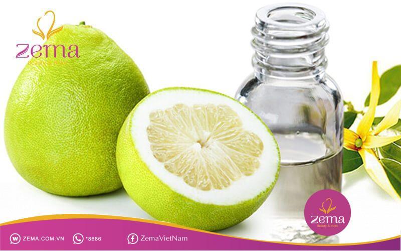 Tinh dầu bưởi giúp trị rụng tóc và kích thích tóc mọc nhanh hơn