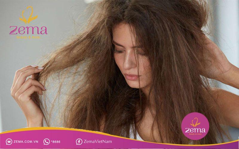 Nguyên nhân khiến tóc xơ rối