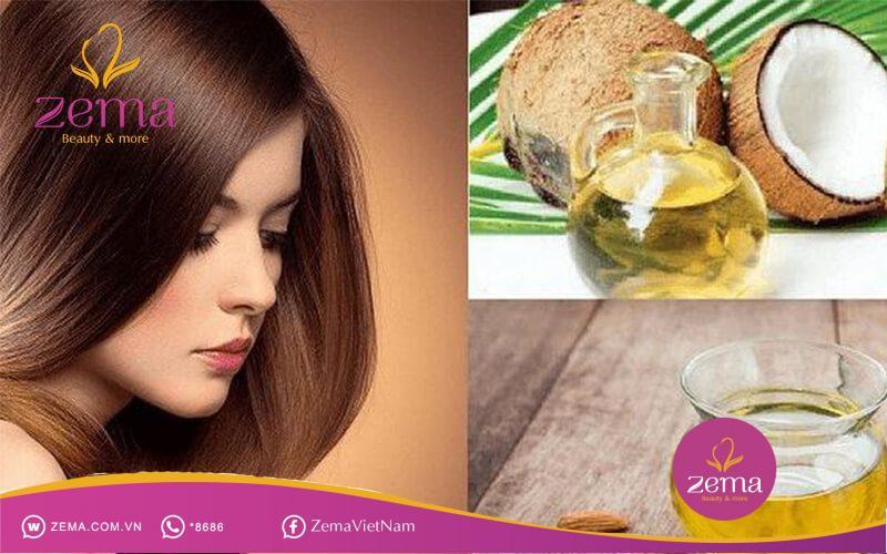 Dùng kem hoặc gel để tạo kiểu và dưỡng ẩm cho tóc