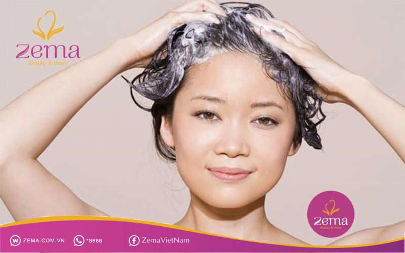 Hãy gội đầu đúng chuẩn để trị tóc xơ rối