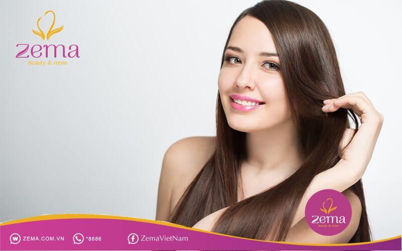 Đừng quên dùng serum để tóc được nuôi dưỡng một cách tốt nhất nhé