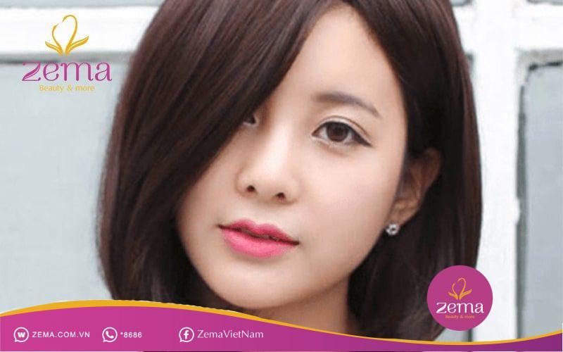 Uốn tóc ngắn cụp đuôi mang đến nét nữ tính, dịu dàng và sự trẻ trung