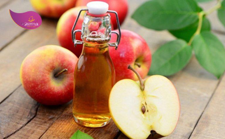 Giấm táo phục hồi độ PH tự nhiên của tóc.