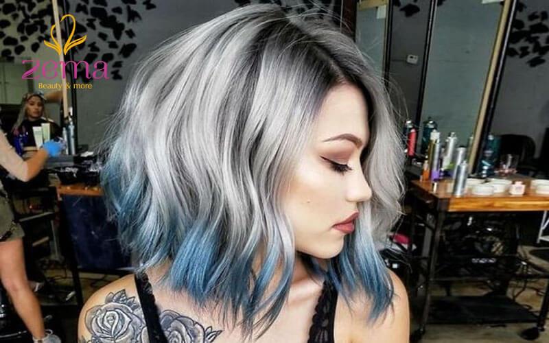 Đi tìm những mẫu tóc highlight đẹp dành cho những cô nàng cá tính chất ngất