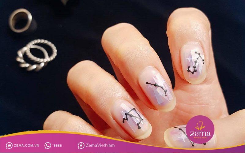 Khám phá mẫu nail hợp với từng cung hoàng đạo nàng nhé!