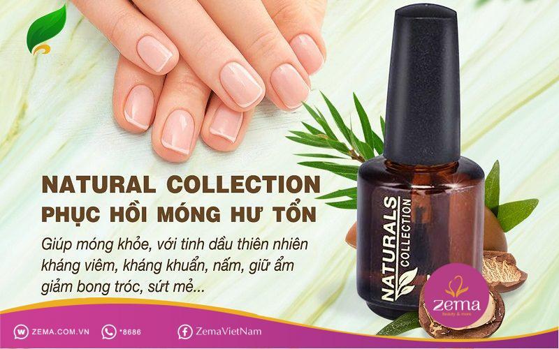 Sơn dưỡng móng Organic Natural Collection