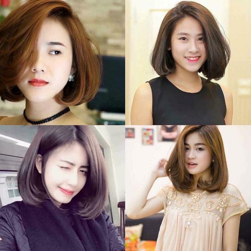 Những mẫu tóc ngắn dành cho cô nàng có khuôn mặt tròn