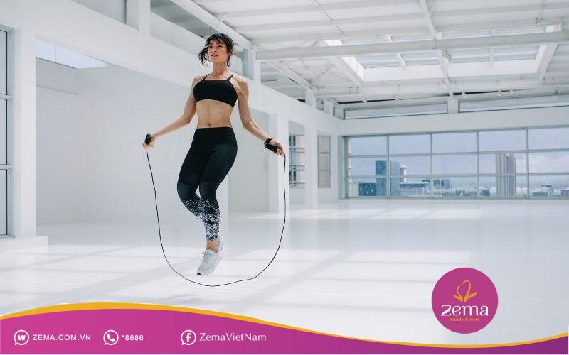 Duy trì nhảy dây có thể giảm cân rất nhanh
