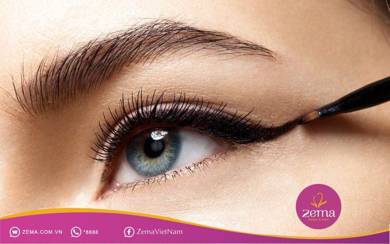 Trang điểm mắt tạo điểm nhất cho gương mặt