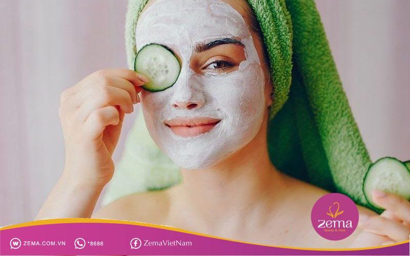 Thói quen đắp mặt nạ cho da trước khi đi ngủ