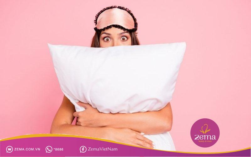 Giấc ngủ rất quan trọng đối với làn da