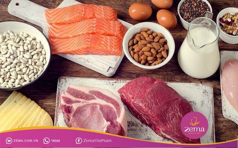 Protein là 1 thành phần không thể thiếu