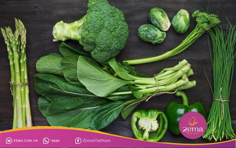 Các loại rau phù hợp cho ăn kiêng
