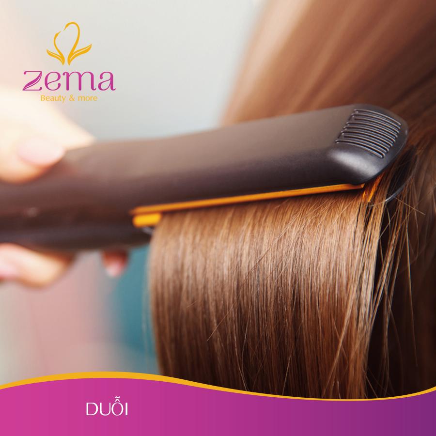 Dịch vụ duỗi tóc nữ uy tín giá rẻ tại ZEMA Việt Nam
