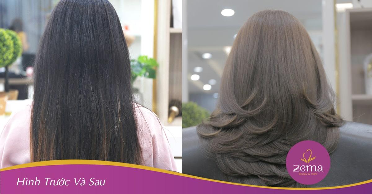 Dịch vụ phục hồi tóc nữ chuyên sâu