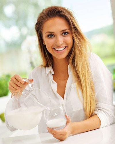 Cách dưỡng da bằng sữa tươi không đường