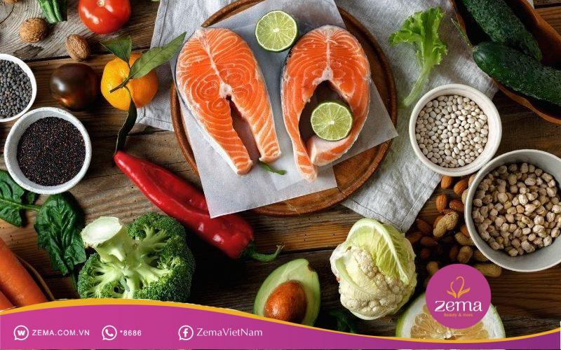 Bổ sung đủ thực phẩm dinh dưỡng