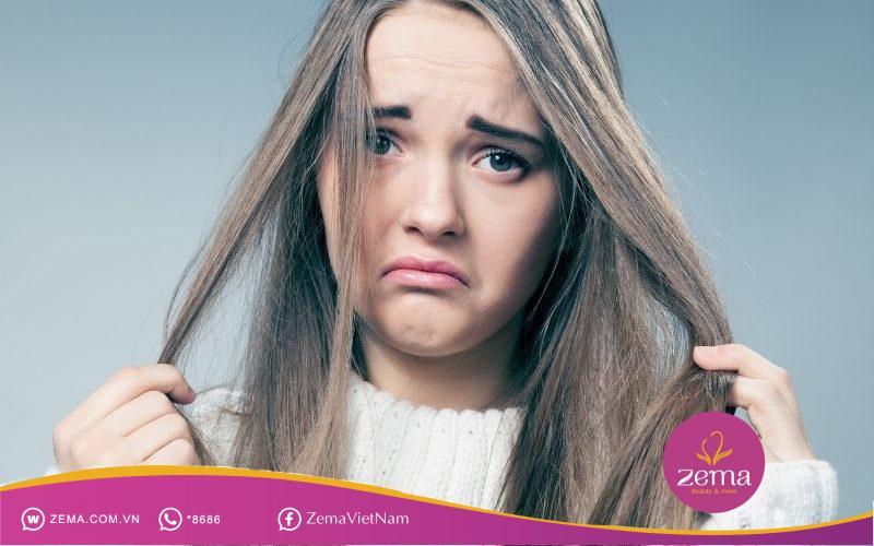 Tóc bết muốn giữ nếp phải biết cách chăm sóc tóc