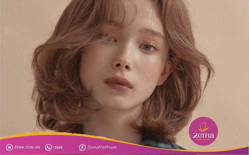 Kiểu cắt tóc nữ phù hợp với mặt góc cạnh