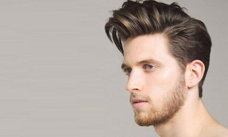 Kiểu tóc Pompadour lịch lãm cũng là lựa chọn hoàn hảo