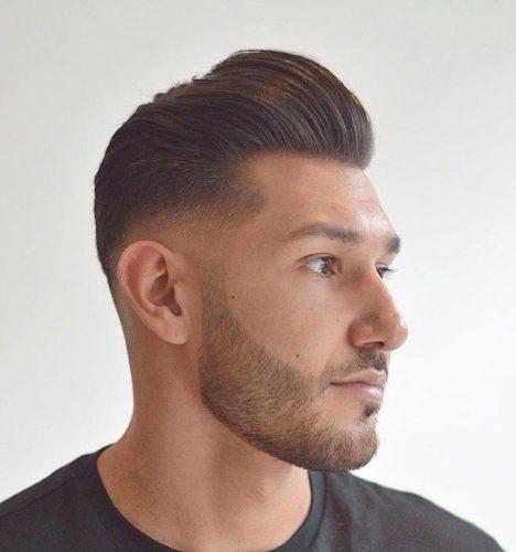 Short Pompadour luôn là kiểu tóc thể hiện được sự nam tính và thanh lịch