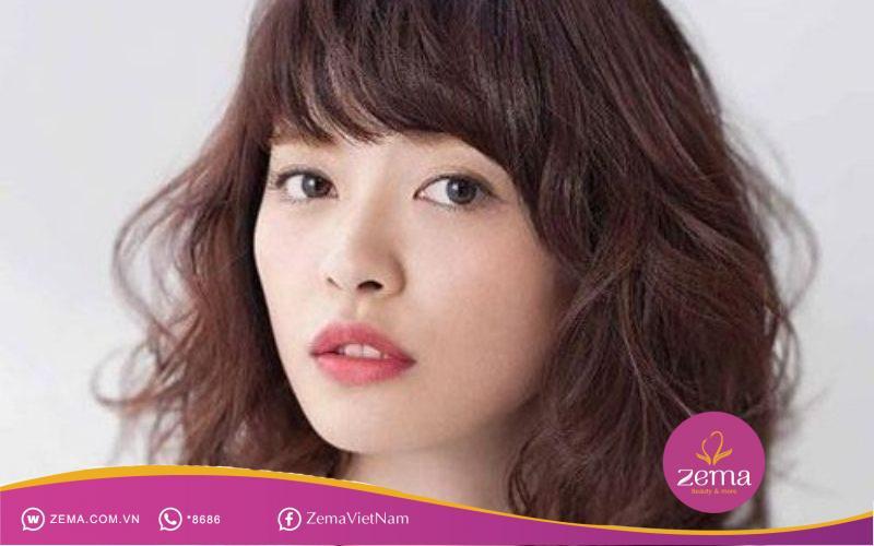 Mái tóc nổi bật theo style Hàn