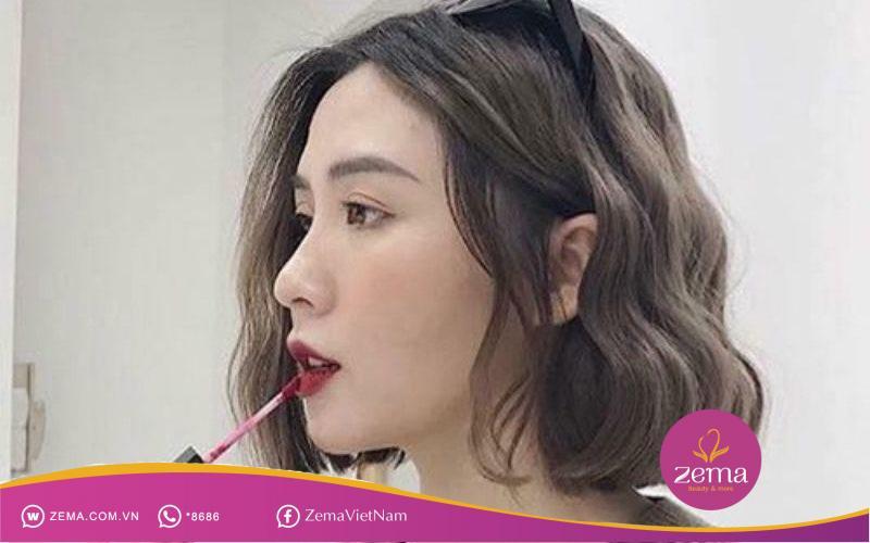 Độ phồng của mái tóc khiến tóc trông dày hơn
