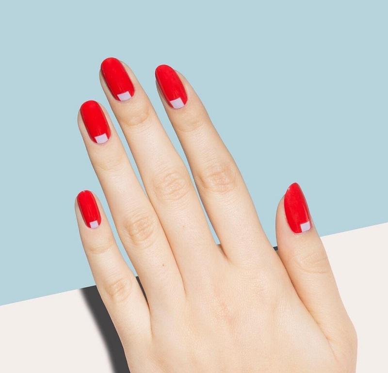 Quyến rũ với nail màu đỏ