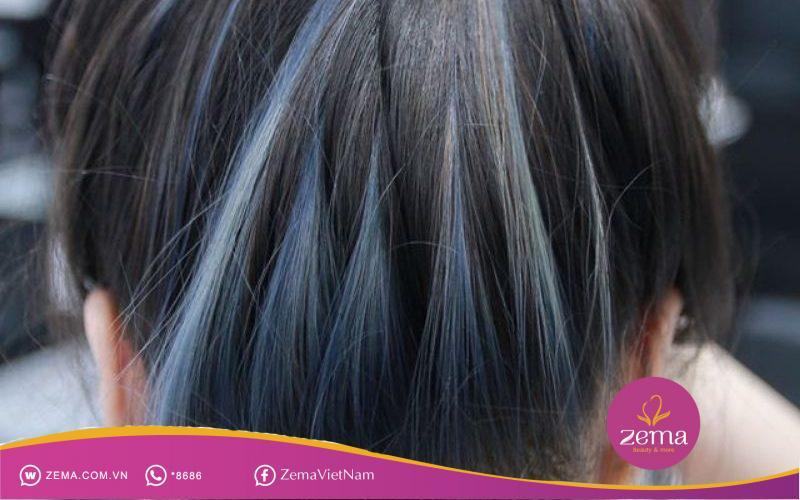 Kiểu tóc sáng tối xen kẽ luôn là một kiểu tóc đặc biệt