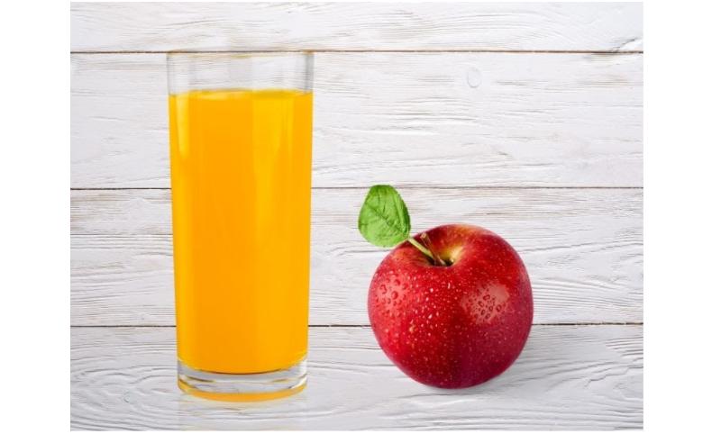 Bữa sáng là táo và nước ép đủ cung cấp năng lượng