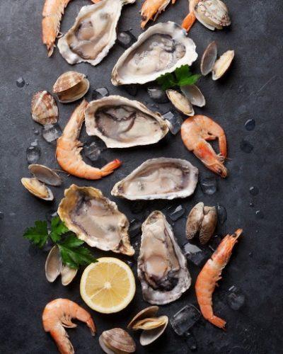Các món ăn hải sản thường không dành cho người mới tẩy nốt ruồi