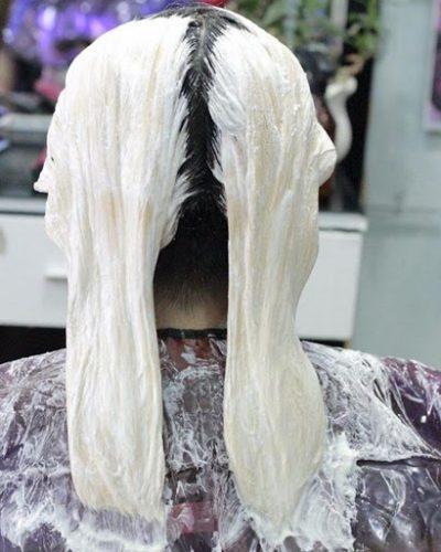 Hình thức tẩy tóc tại nhà