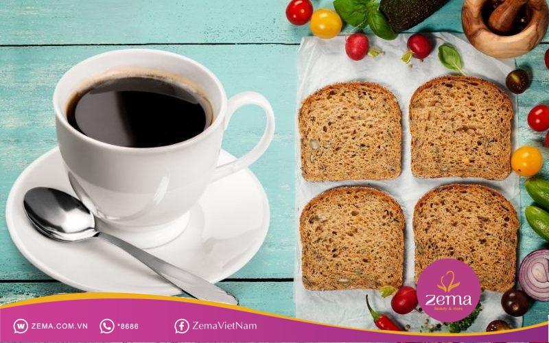 Khẩu phần ăn bữa sáng ngày 4 giúp giảm mỡ bụng