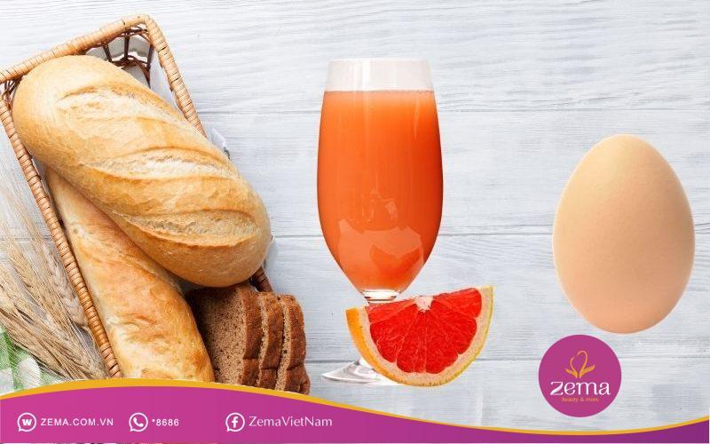 Thực đơn giảm cân cho bữa sáng ngày thứ 5