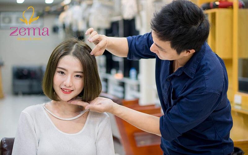 Yên tâm tạo kiểu tóc thời trang tại Zema