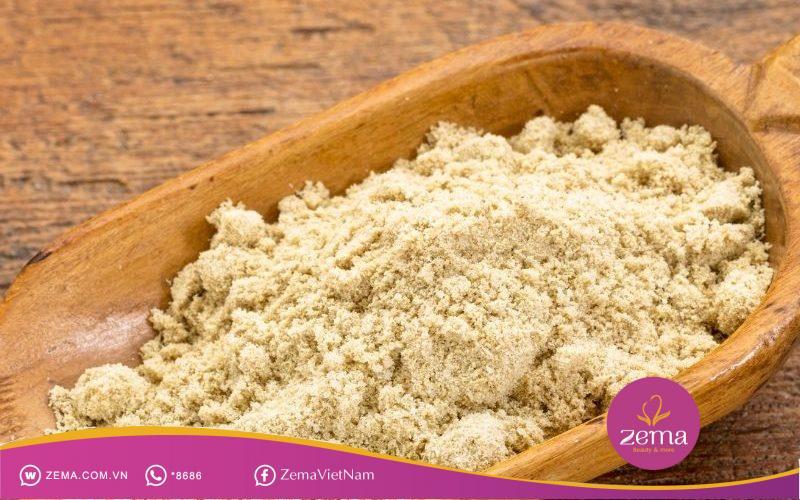 Cám gạo có thể dùng để trị mụn ẩn