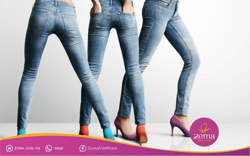Mặc quần quá bó nhiều cũng dễ làm thâm mông
