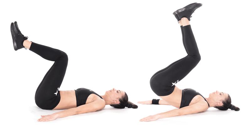"""Gập bụng ngược giúp """"tiêu diệt"""" mỡ bụng dưới cực hiệu quả"""