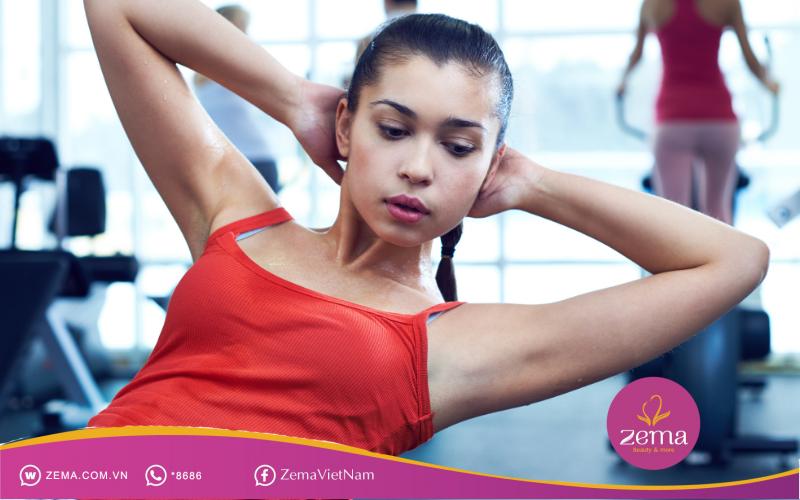 Gập bụng chéo nâng cao quá trình giảm mỡ