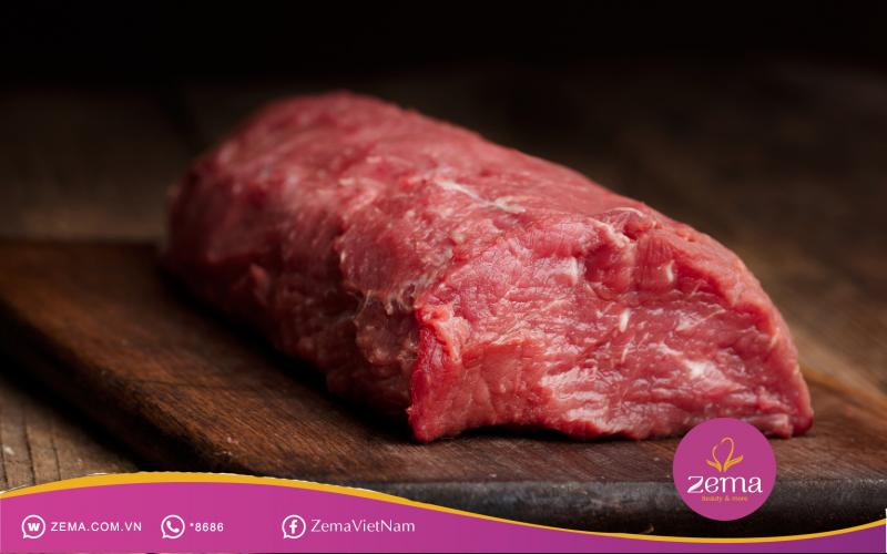 Thịt nạc cung cấp protein tốt cho quá trình giảm cân